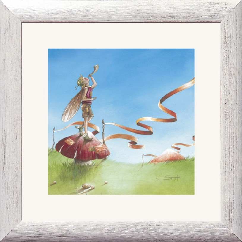 Fairy Musician Picture Frame FB3